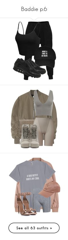 """""""Baddie p.6"""" by fairyblue-1 ❤ liked on Polyvore featuring LE3NO, NIKE, Fear of God, Michael Kors, Uniqlo, adidas Originals, Theory+, Acne Studios, Tom Ford and Frame"""