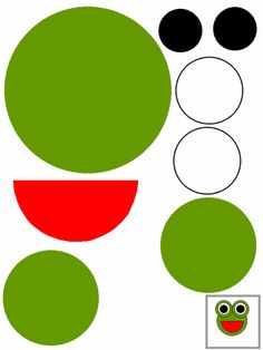 Directions and free printable templates for making a frog paper craft. Summer Crafts For Kids, Paper Crafts For Kids, Summer Daycare, Daycare School, Daycare Crafts, Preschool Crafts, Toddler Art, Toddler Crafts, Preschool Learning Activities