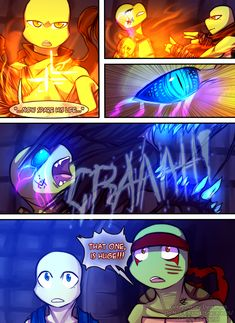 Teenage Mutant mages Turtles Page 30 by GolzyBlazey.deviantart.com on @DeviantArt