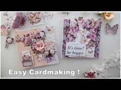 2 Super Easy Beginners Cards ♡ Maremi's Small Art ♡ - YouTube