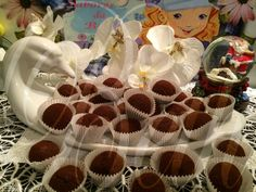 O Sabores de Beth - Os Sabores da Beth: Trufas de chocolate Stéphane Glacier / trufas de chocolate Stéphane Glacier