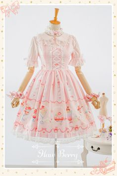 --> #LolitaUpdate: Haw Berry™ New Released Sweet Lolita Dresses --> Learn More: http://www.my-lolita-dress.com/newly-added-lolita-items-this-week/newly-added-sweet-lolita-dresses-from-haw-berry