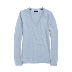 Image for CLASSIC V-NECK SOLID SWEATER from Tommy Hilfiger USA