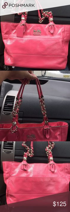Very good condition only has a few spots but has to be close to see Coach Bags