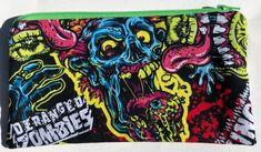 Deranged Zombies Zipper Pouch