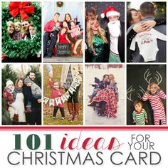An exhaustive list of holiday photo card ideas