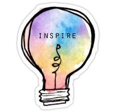 Inspire Lightbulb Stickers