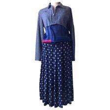 COMME DES GARCONS Silk mid-length dress