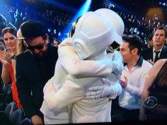 Daft hug!!