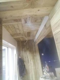 Hardwood Floors, Flooring, Barbers, Track Lighting, Ceiling Lights, Home Decor, Wood Floor Tiles, Room Decor, Ceiling Lamp