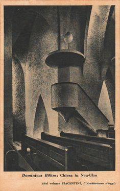 Böhm, Dominikus - Pfarrkirche St. Johann Baptist, Neu-Ulm (Parish Church St. John the Baptist, Neu-Ulm), 1922-1926