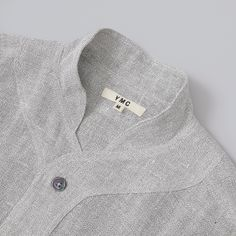 YMC Baseball Shirt - Light Grey