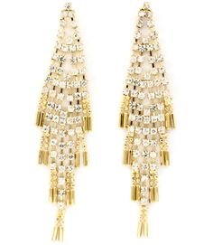 #Crystal #Rain #Chandelier #Earrings *Click Image to find item*