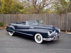 classic buick cabriolet -