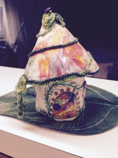 Fairy house Crafts To Make, Arts And Crafts, Tea Cups, Fairy, Tableware, House, Dinnerware, Home, Dishes