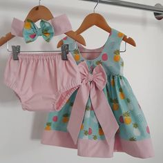 Best 12 US Flower Newborn Baby Girls Outfit Clothes Romper Tops T-shirt+Shorts Pants Set – Page 150729918765894422 – SkillOfKing. Cute Summer Outfits, Kids Outfits, Baby Dress Design, Baby Dress Patterns, Kids Frocks, Dresses Kids Girl, Cute Baby Clothes, Diy Dress, Baby Sewing