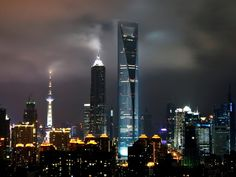 Lo Shanghai World Financial Center è il terzo più alto grattacielo