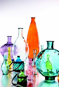 100% recycled glas collection!