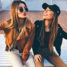 Resultado de imagem para chicas besties friends tumblr