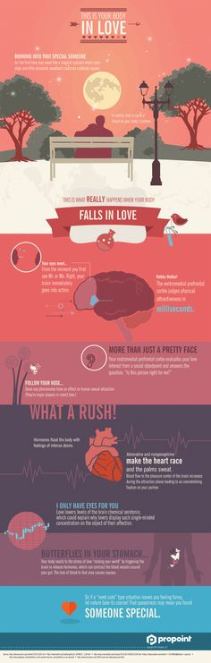 This is your body in love Infographic