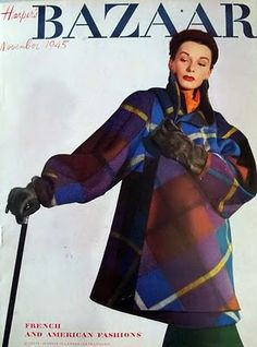 Alexey Brodovitch - Harper's Bazaar, Nov 1945