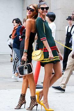 NYFW Street Style Photos - Spring 2015 New York Fashion Week Street Style Pictures - Elle #ZenniFashionChallenge