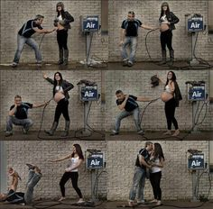 Funny and cute maternity pictures!