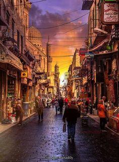 Egypt #Cairo #Moez street