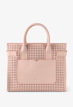 BREE | Antibes 2 rose/tangerine perforated S14 - MC - Cowhide Leather, with Foil Coated