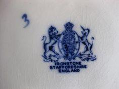 ironstone | Vintage White Ironstone Mark