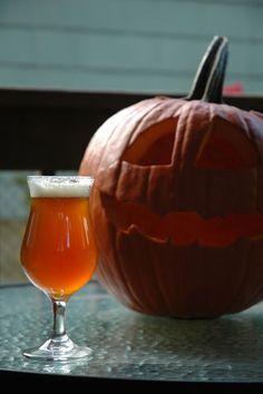 Pumpkin Saison Recipe #homebrew #pumpkinbeer @beetsandbarley