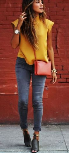 38 Fashionable Summer Bright Color Outfits Ideas For Women