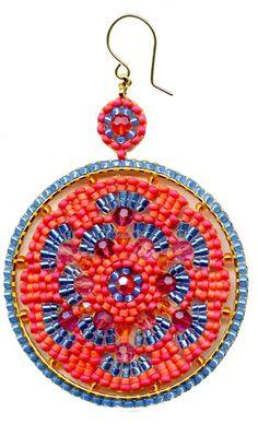 Swarovski and Miyuki Seed beads