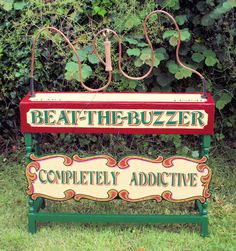 Beat the Buzzer Game - perfect for a village fete style wedding or party! Can you get round the wire without setting the buzzer off? Carnaval Vintage, Vintage Carnival Games, Carnival Themes, Vintage Circus, Vintage Games, Fairground Games, Theme Carnaval, Fete Ideas, 31 Ideas