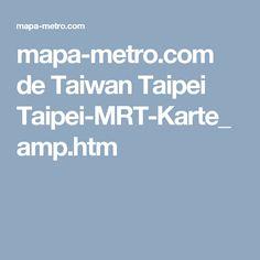 mapa-metro.com de Taiwan Taipei Taipei-MRT-Karte_amp.htm