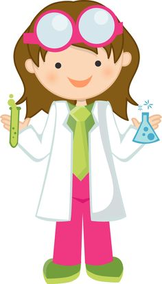 Girl Scientist Free Clipart