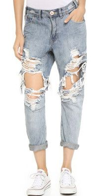 Invest in a pair of #OneTeaspoon #jeans they are a #fashion staple. at #Nicci stores #Ripped