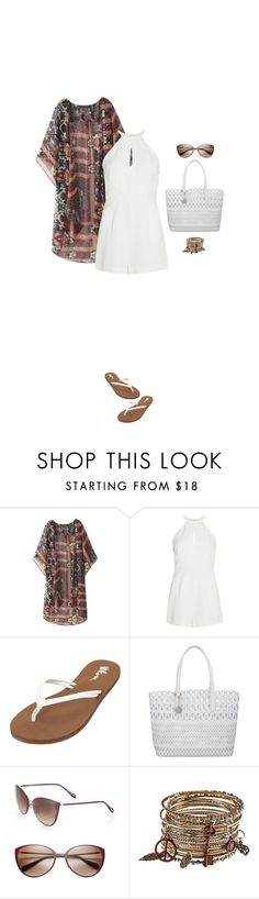"""""""Playtime"""" by blueeyed-dreamer ❤ liked on Polyvore featuring Finders Keepers, Volcom, DKNY and Oliver Peoples"""