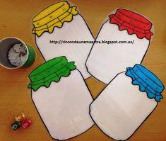 Rincón de una maestra: Los botes caza-abejas Crafts For Kids, Arts And Crafts, Math Resources, Monster, Math Games, Teaching Math, Math Centers, Kindergarten, Homeschool