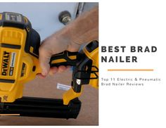 Do you want to buy the best brad nailer on the market but you're not sure what to pick? Our practical experience and buying guide will help you to choose the 18 gauge brad nailer. Power Generator, Generators, Drill, Hole Punch, Drills, Drill Press