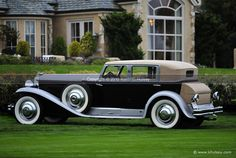 1933 Duesenberg Convertible Coupe Stock Photo