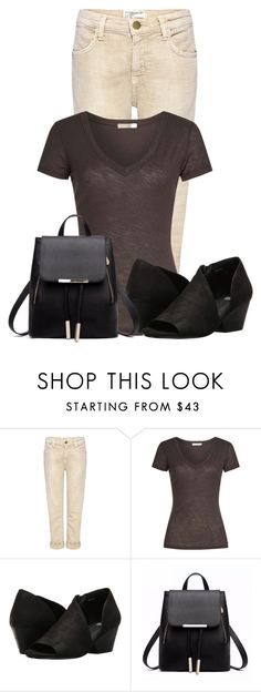 """""""Untitled #21656"""" by nanette-253 ❤ liked on Polyvore featuring Current/Elliott, James Perse and Eileen Fisher"""