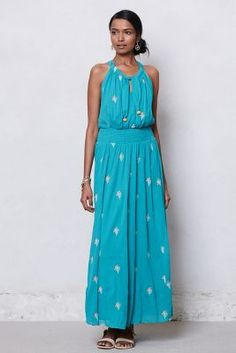 Skyscape Maxi Dress - want for June wedding!