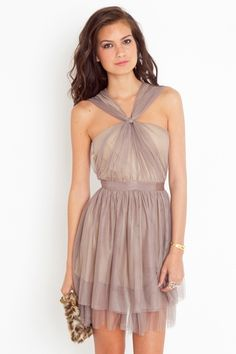 Pretty dress for a wedding