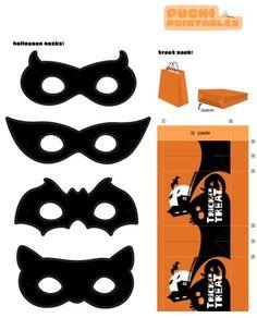 Masker / Mask: superhelden en-heldinnen by PuchiCollective