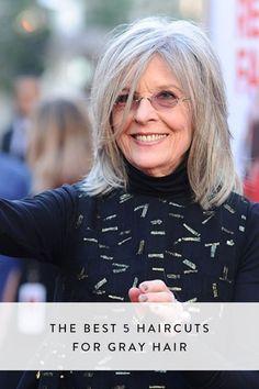 Résultats de recherche d'images pour « transition to grey hair with highlights »