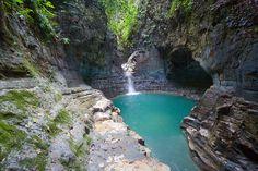 Waterfall waimarang air terjun Sumba island Indonesia. Beautiful swim cool scenery Waterfall, Road Trip, Scenery, Journey, Swimming, River, Island, Outdoor, Beautiful