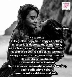 Ha szeretsz....♡ Thoughts, Facebook, Love, Pictures, Quotes, Amor, Photos, Quotations, Quote