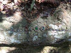 Coleção Prata Turca :: Pulseira Coração verde com zircônia branca ✨  Para comprar deixe seu e-mail nos comentários ou entre em contato com lojagrassa@gmail.com  #prataturca #prata #semijoia #acessório