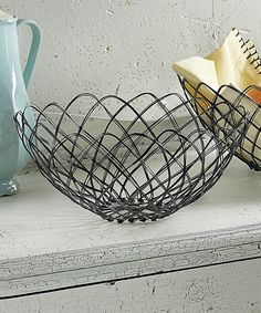 Large Baskets, Fresh Fruits And Vegetables, Antique Metal, Wicker, Decorative Bowls, Antiques, Wood, Tin, French